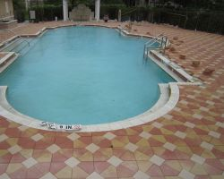 Pool Side Paving 001