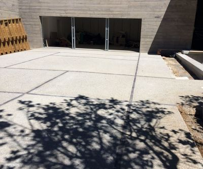Exposed Aggregate Concrete Paving 005