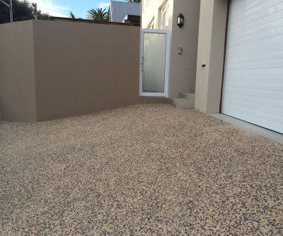 Exposed Aggregate Concrete Paving 008