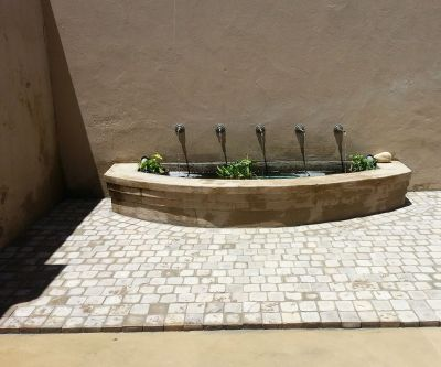 Water Feature Paving